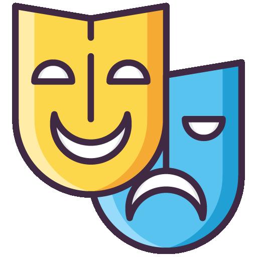Liz Tomey – YouTube Traffic Takeover Workshop Theatre Masks